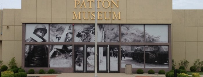 General George Patton Museum is one of Louisville, KY.