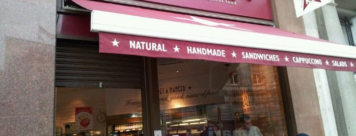 Pret A Manger is one of Around The World: London.