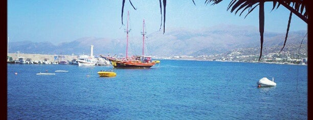 Port of Hersonissos is one of Crete sightseeing.
