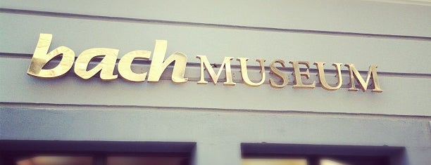 Bach-Museum is one of Lugares favoritos de Pelin.