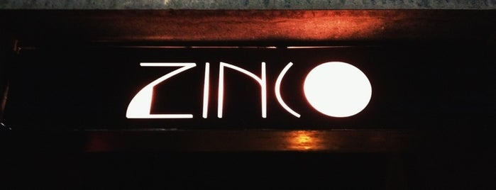 Zinco Jazz Club is one of Bares.