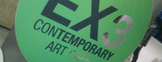 Ex3 Contemporary Art Café is one of i.OVO Arte e Cultura Contemporanea.