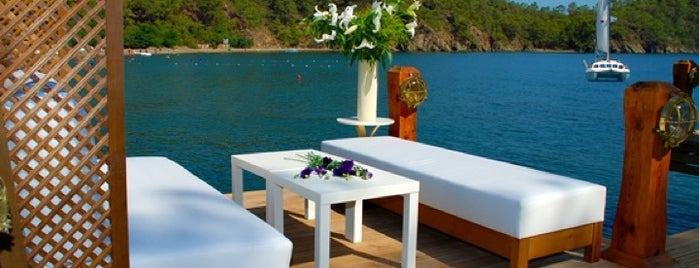 The Bay Beach Club is one of muğla 14.