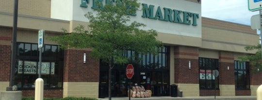 The Fresh Market is one of Jared's Liked Places.