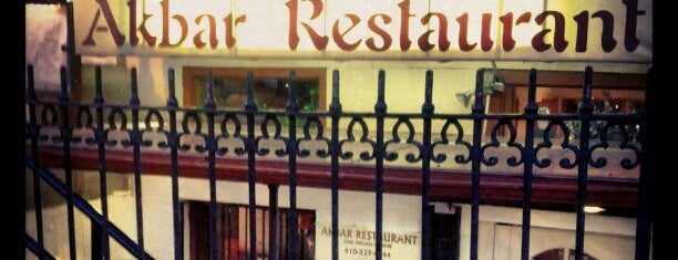 Akbar Restaurant is one of 20 favorite restaurants.