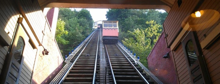 Monongahela Incline is one of PGH.