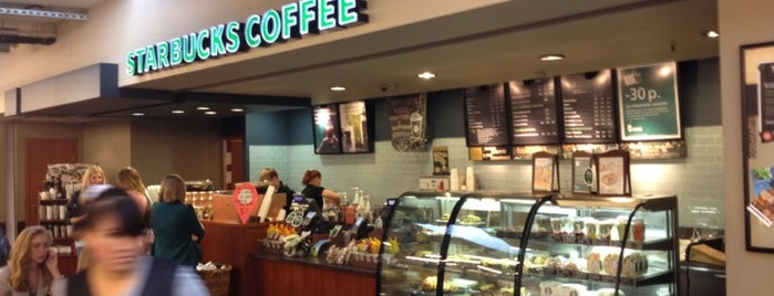 Starbucks is one of Места для онлайн трансляций.