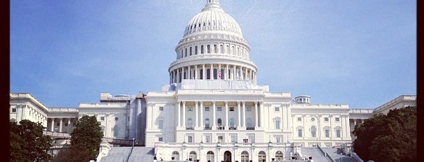 United States Capitol is one of ♡DC.