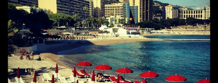 Plage du Larvotto is one of FR2DAY's Favourite French Riviera Beaches.