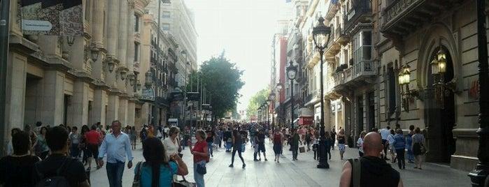 Avinguda del Portal de l'Àngel is one of Barcelona.