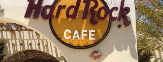 Hard Rock Cafe Hurghada is one of Egypt Best Cafés.