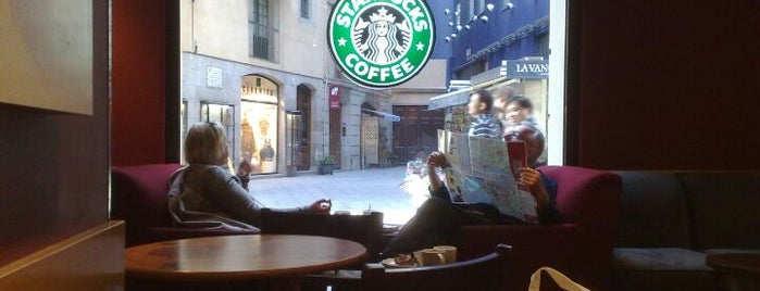 Starbucks is one of Spain Barcelona.