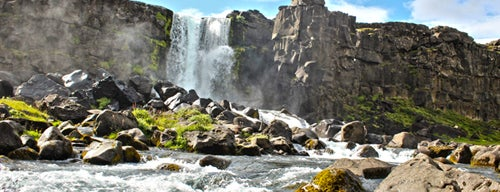 Öxarárfoss is one of Weekend in Iceland.