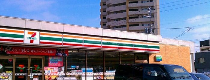 7-Eleven is one of Lieux qui ont plu à 重田.