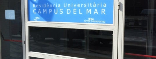 Residencia Campus del Mar is one of Barcelona.