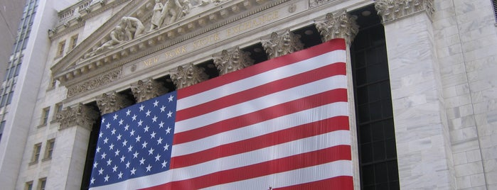 New York Stock Exchange is one of Must visit.