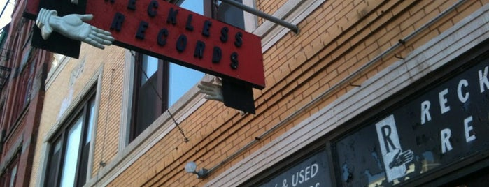 Reckless Records is one of 100 Best Places in Chicago: TOC Staff Picks.