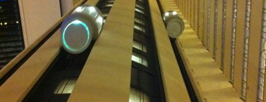 New York Marriott Marquis is one of Places to go, Manhattan.