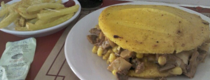 Arepa's is one of Venezuela en Chile.