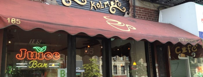 Cafe Kolmaro is one of New York City Coffee by Subway Stop.