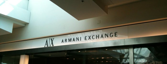A|X Armani Exchange is one of Favorite Places to visit!.