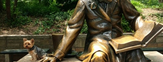 Hans Christian Andersen Statue is one of NYC.