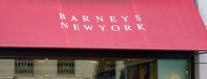 Barneys New York is one of NY.