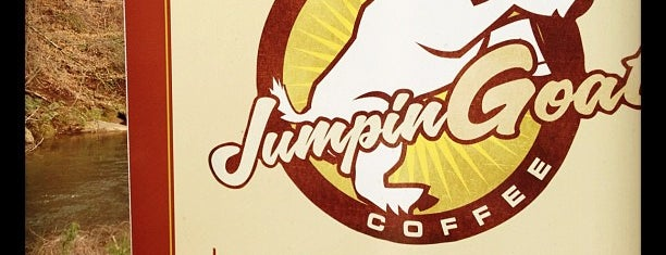 Jumpin Goat Coffee Roasters is one of Cyndi'nin Kaydettiği Mekanlar.