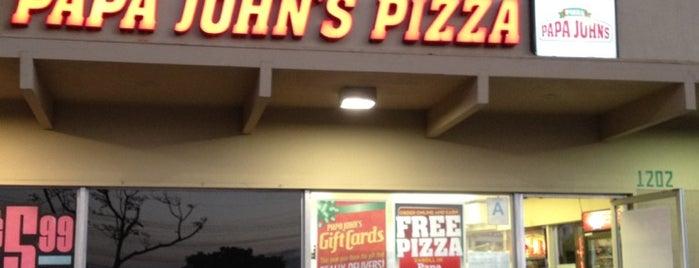 Papa John's Pizza is one of Redondo Beach.
