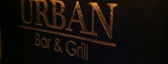 Urban Bar & Grill is one of Gespeicherte Orte von Ryan.