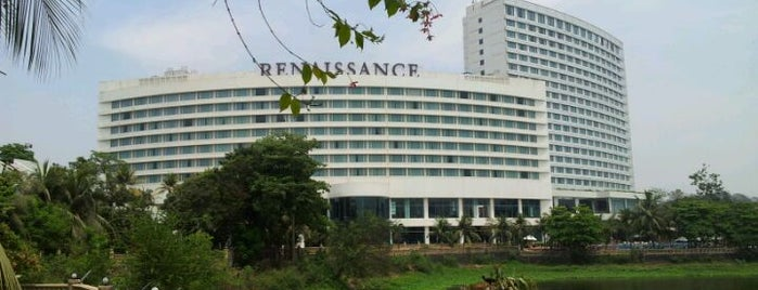 Renaissance Mumbai Convention Centre Hotel is one of Locais curtidos por Mike.