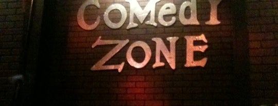 Comedy Zone is one of Leggo!.
