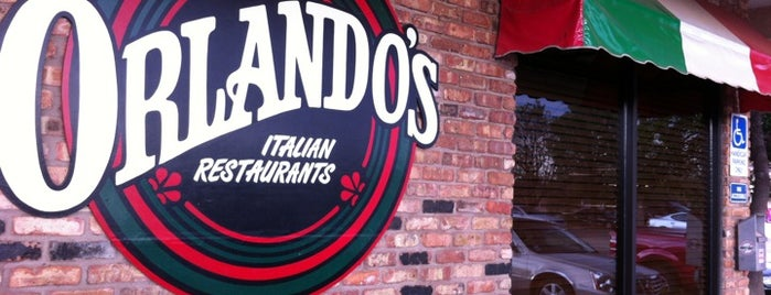 Orlando's Italian Restaurant is one of TM 50 Best Burgers in Texas.