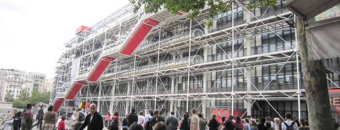 Centre Pompidou – Musée National d'Art Moderne is one of  Paris Sightseeing .