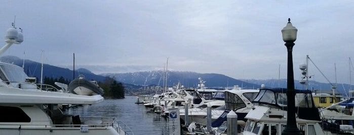 Coal Harbour Seawall is one of Canada.