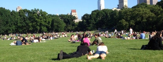 Sheep Meadow is one of Experience Central Park on The Mark Bikes.