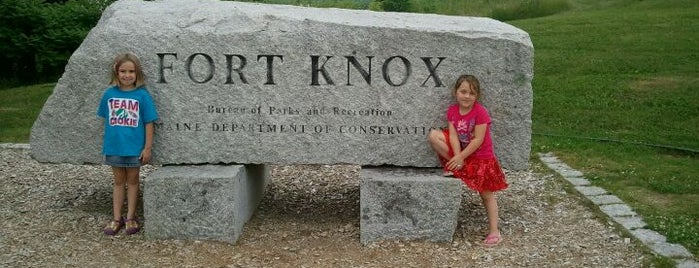 Fort Knox State Historic Site is one of Maine.