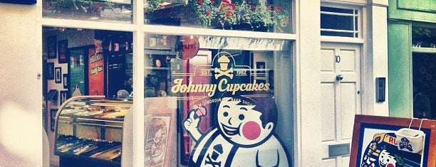 Johnny Cupcakes is one of london.