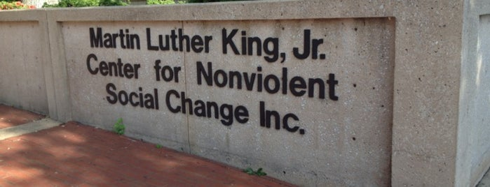 Martin Luther King, Jr. Center for Nonviolent Social Change is one of Culture.