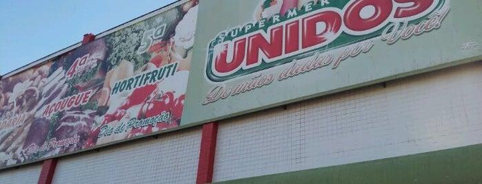 Supermercados Unidos is one of Tempat yang Disukai Areta.