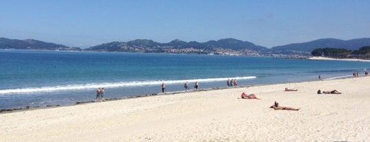 Praia de Samil is one of Playas de España: Galicia.
