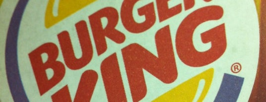Burger King is one of locais.