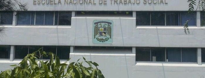 UNAM Escuela Nacional de Trabajo Social is one of Trabajo.
