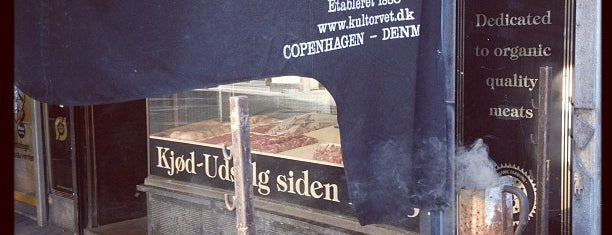 Slagteren ved Kultorvet is one of Edible Copenhagen.