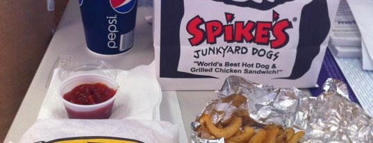 Spike's Junkyard Dogs is one of Food.