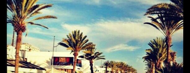 La Corniche is one of Agadir b4.