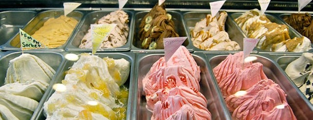 Morelli's Gourmet Ice Cream is one of ATL.