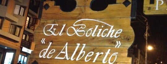 El Boliche de Alberto - Parrilla is one of Bariloche Gluten Free.