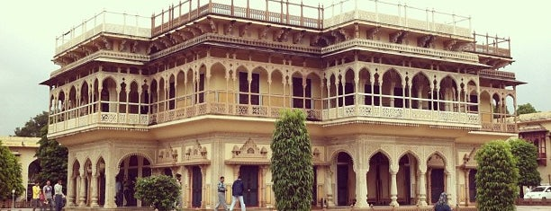 City Palace is one of Jaipur.