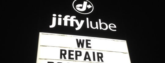 Jiffy Lube is one of Chantell's Liked Places.